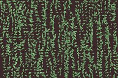 Background abstract leaves drawing pattern for design. Vector, nature, wallpaper & web. Background abstract leaves drawing pattern for design. Style of mosaic Stock Photography