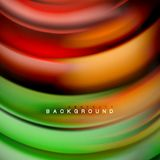 Background abstract - liquid color wave. Trendy flowing design template royalty free illustration