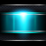 Background abstract metallic. Royalty Free Stock Image
