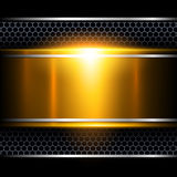 Background abstract metallic. Stock Photography