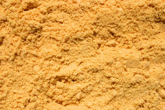 Background abstract of mustard powder Stock Photo