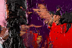Background abstract oil on canvas Royalty Free Stock Images