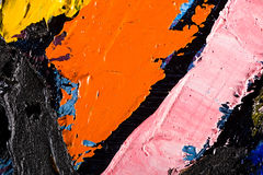 Background abstract oil on canvas Stock Photo
