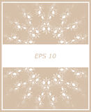 Background abstract ornament beige. Vektor Royalty Free Stock Photo