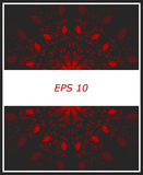Background abstract ornamentBackground abstract background dark gray with red Stock Photo
