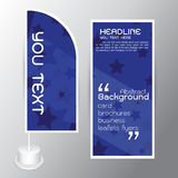 Background Abstract Paper Graphics set Cards brochures flyers blue  Royalty Free Stock Photos