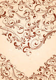 Background with abstract pattern. Decorative template for text, illustration Royalty Free Stock Images