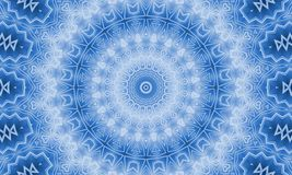 Background with abstract pattern. Gradient blue background with abstract radial pattern Royalty Free Stock Photos
