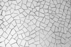 Background of an abstract pattern with mosaic bits. Background of an abstract pattern made with mosaic bits (Trencadis Royalty Free Stock Photography