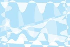 Background abstract patterns soft blue and white.  Royalty Free Stock Image