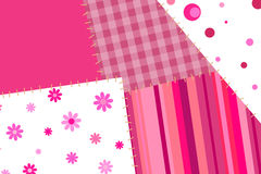 Background abstract pink patch Royalty Free Stock Images