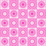 Background with abstract pink pattern Stock Photo