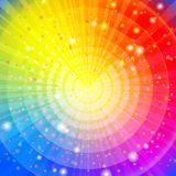 Background abstract rainbow stock illustration
