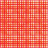 Background with abstract red pattern.  Stock Image