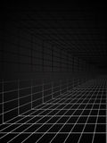 Background. Abstract science or technology background in black and white range Royalty Free Stock Images