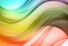 Background with abstract shapes royalty free illustration