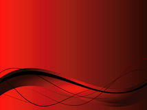 Background with abstract smooth lines royalty free illustration