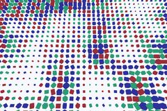 Background abstract square, rectangle pattern for design. Creative, color, texture & mosaic. Background abstract square, rectangle pattern for design. 3D Royalty Free Stock Photos