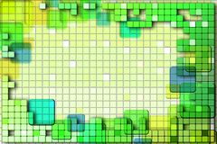 Background with abstract squares. Image with abstract squares. For business cards, logos, artwork, background, etc Stock Photography