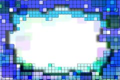 Background with abstract squares. Image with abstract squares. For business cards, logos, artwork, background, etc Stock Images
