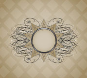 Background with abstract sun. Royalty Free Stock Photography