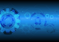 Background abstract technology vectors Royalty Free Stock Image