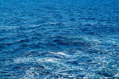 Background and texture of sea water Stock Photography