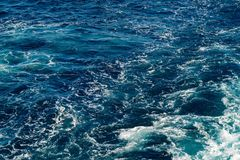 Abstract texture of sea water Stock Photos