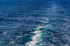 Abstract texture of sea water Stock Photography