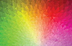 Background abstract triangle geometry pattern color spectrum Royalty Free Stock Images