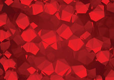 Background abstract triangle geometry pattern luxury ruby crystals Royalty Free Stock Image