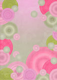 Background. Abstract background whit circles and texture Royalty Free Stock Photos