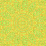 Bright abstract pattern. Background with abstract yellow bright radial pattern Stock Image