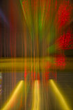 Background - abstraction, twinkling Christmas lights. Garland decorating the house royalty free stock image