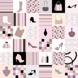 Background of accessories Stock Photos