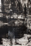 Background acrylic texture. Texture of acrylic painting, black and white colors, rough strokes Royalty Free Stock Photography