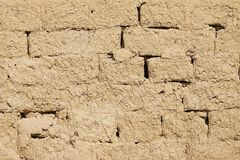 Background - Adobe wall texture. Closeup stock image