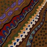 Background with african motives. Illustration with african patterns.Background with decorative patterns stock illustration