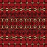 Background with African ornaments Royalty Free Stock Photos