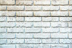 Background - Aged White Wall. Background - Aged White Painted Brick Wall Stock Photo