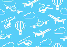 Background of air transport Royalty Free Stock Images