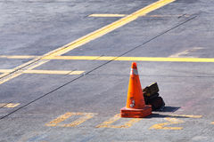 Background of airport runway Royalty Free Stock Image