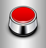 Background with alarm button Stock Image