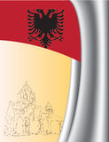 Background Albania Royalty Free Stock Photos