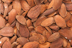 Background almond Stock Images