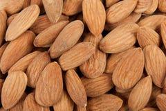 Background almonds Stock Photos