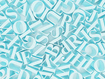 Background of alphabets. High resolution image. 3d rendered illustration. Background of alphabets Royalty Free Stock Image