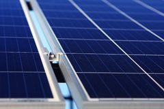Background of alternative solar energy royalty free stock photos