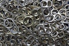 Background aluminium caps Royalty Free Stock Photos