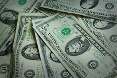 Background from American dollar bank notes Stock Photography